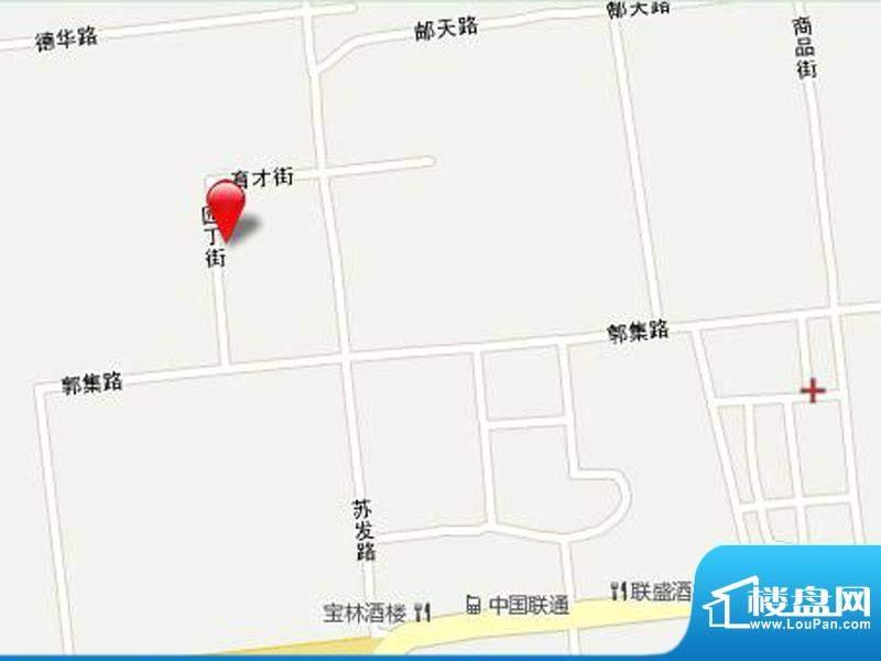扬州郭集科技灯具城交通图