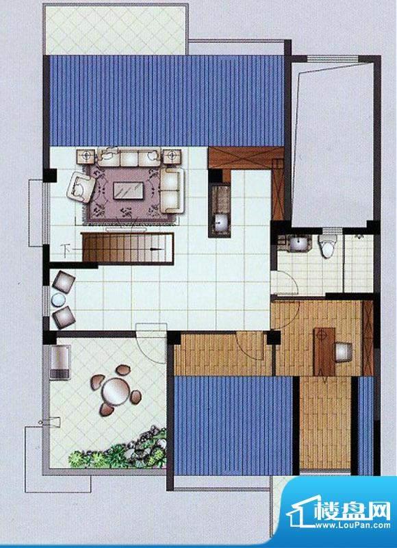 水杉御景2#楼阁楼 3面积:55.85平米