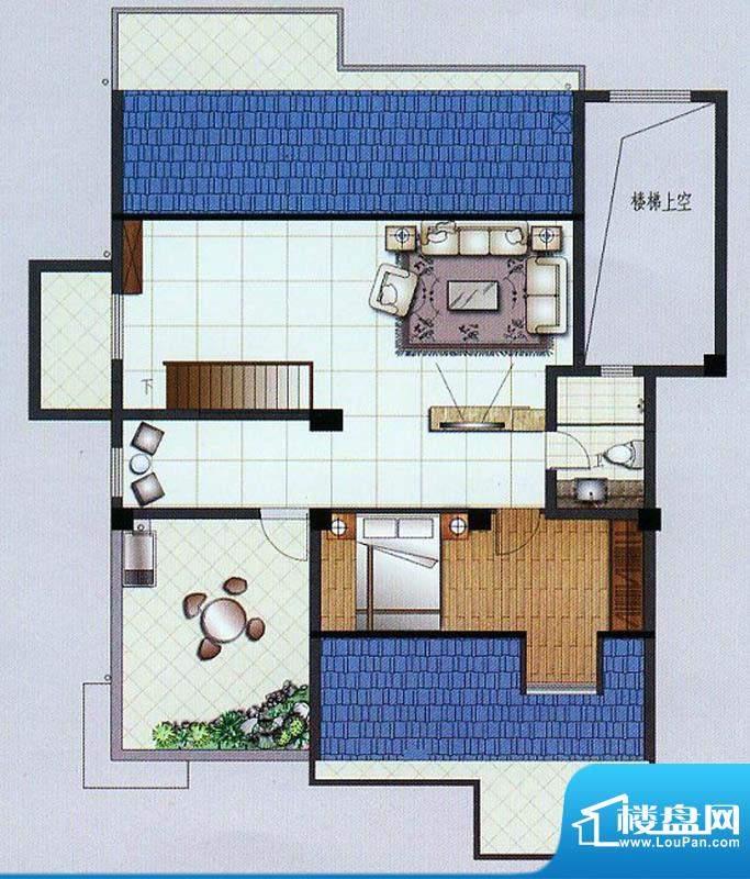 水杉御景8#楼阁楼 2面积:58.52平米