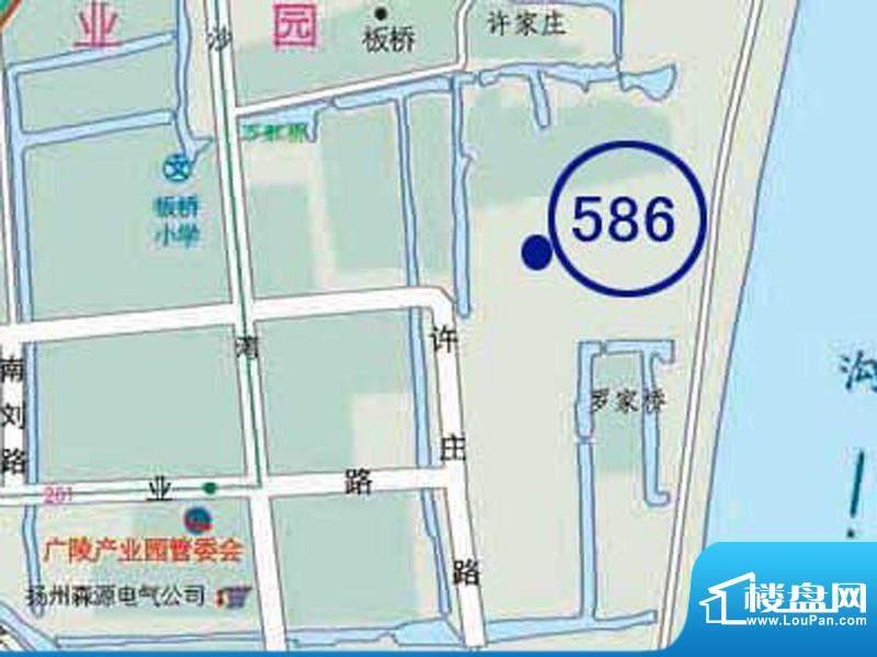 明发江湾城交通图