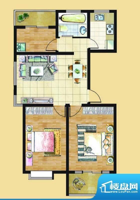 九里景秀G5户型 3室面积:0.00平米