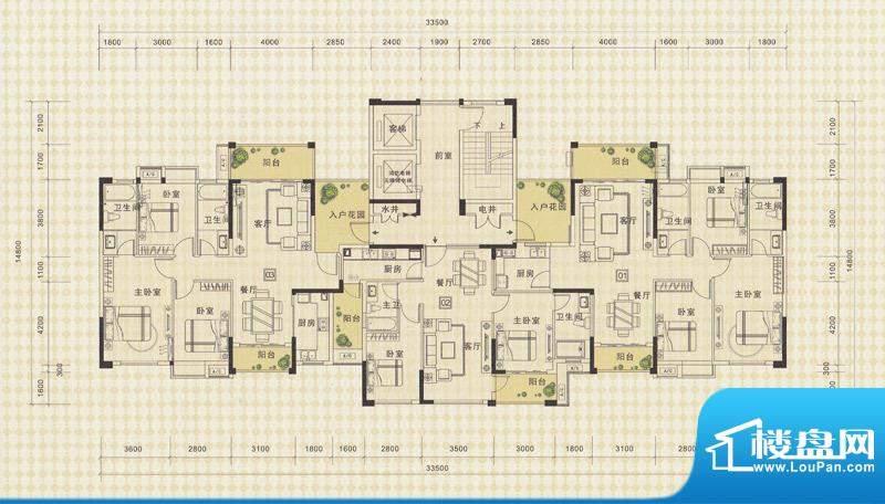 中信德方斯1号楼01/面积:0.00m平米