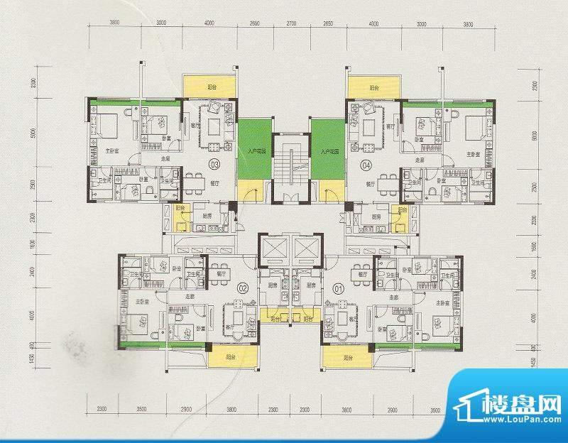 天悦城1、2号楼奇数面积:0.00m平米