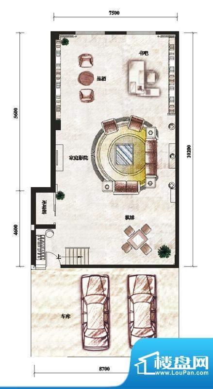 君华新城5M系联排别面积:0.00m平米