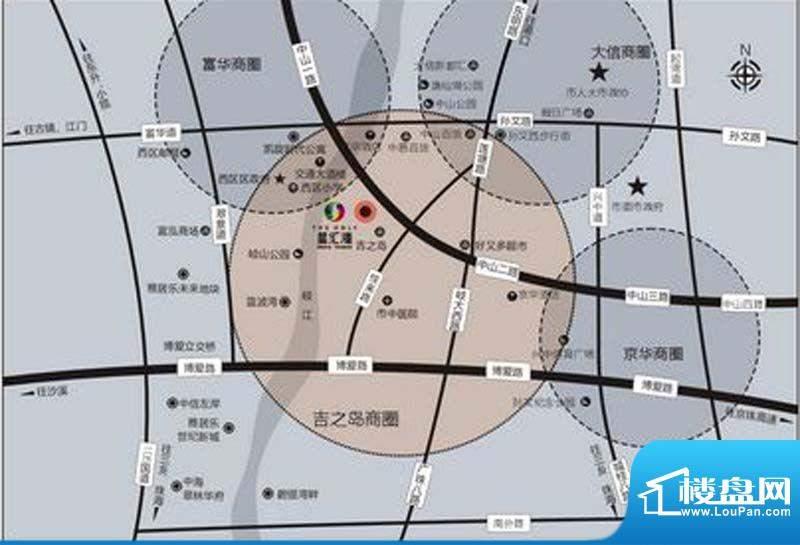星汇湾交通图
