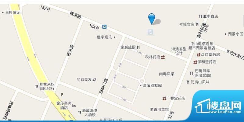 中海龙湾国际交通图