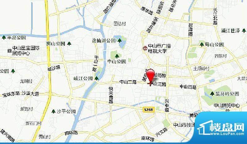 利和广场交通图