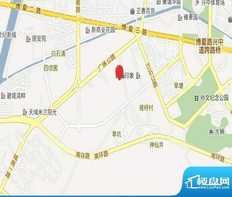 瀚华花园交通图