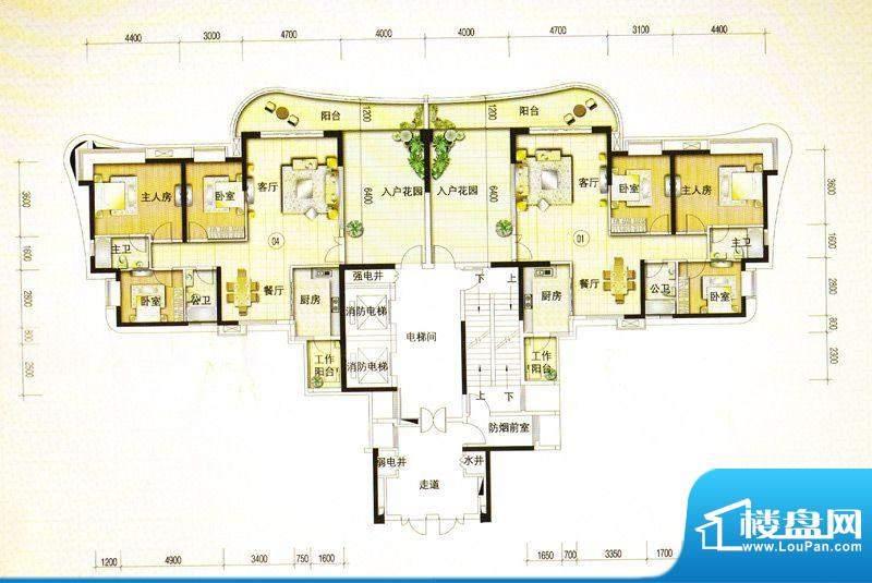 金爵官邸2栋01/04单面积:0.00m平米