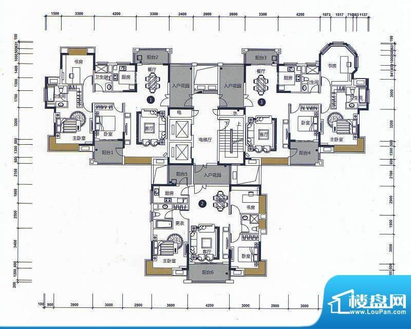 远洋城天骄14栋6-14面积:0.00m平米