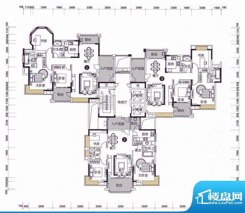 远洋城天骄3幢6-13层面积:0.00m平米