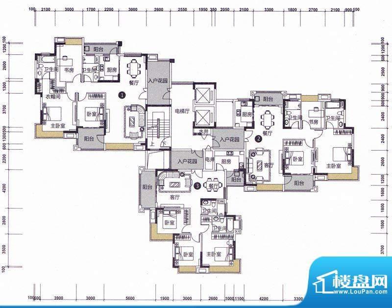 远洋城天骄6、8幢3、面积:0.00m平米