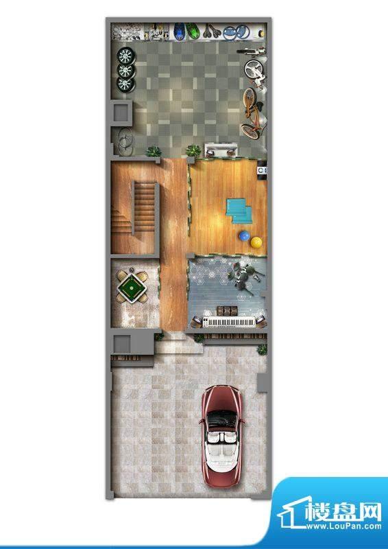 丽丰棕榈彩虹C型别墅面积:0.00m平米