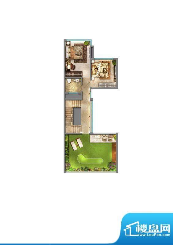 丽丰棕榈彩虹D型别墅面积:0.00m平米