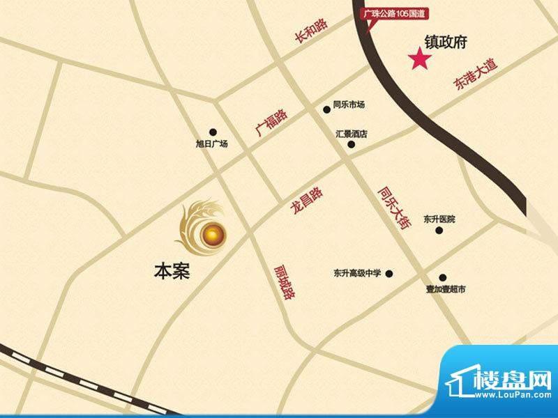 旭景花园交通图