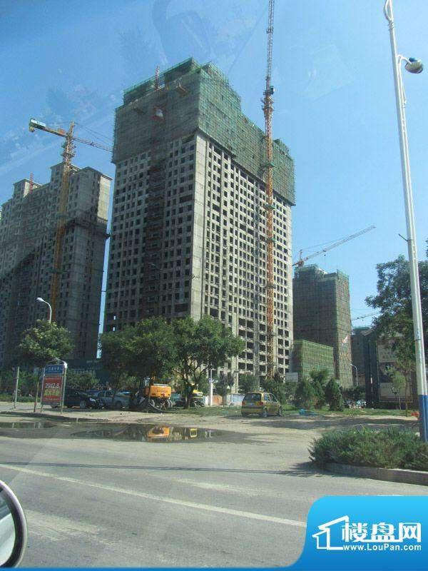 宝湖福邸工程进度(2012-7-25)