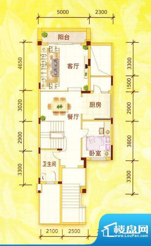 佛奥阳光花园TC户型面积:307.64m平米
