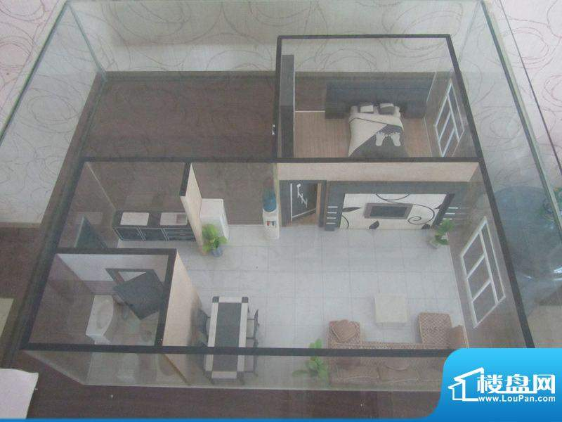兰花花国际公寓户型面积:57.50m平米