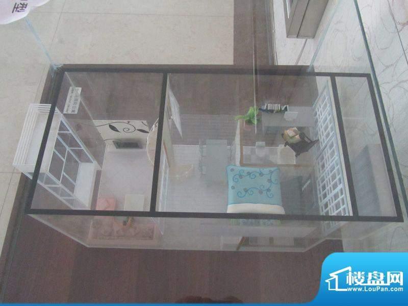 兰花花国际公寓户型面积:57.00m平米