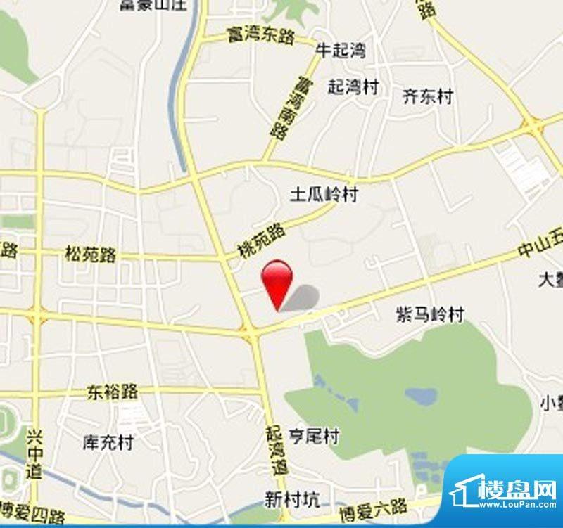 粤海丽江国际交通图