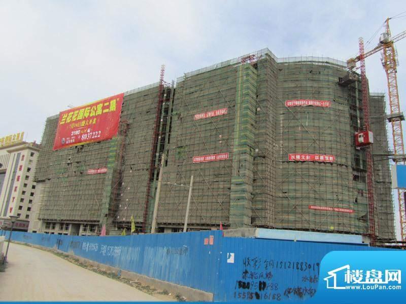兰花花国际公寓工程进度(20110715)