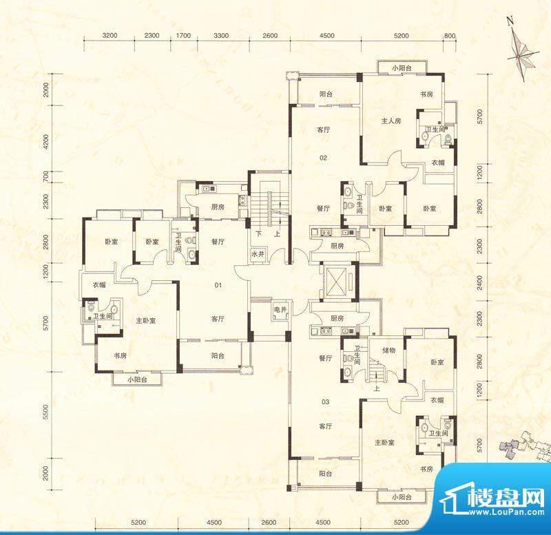 南桂园江临世家A-A栋面积:0.00m平米