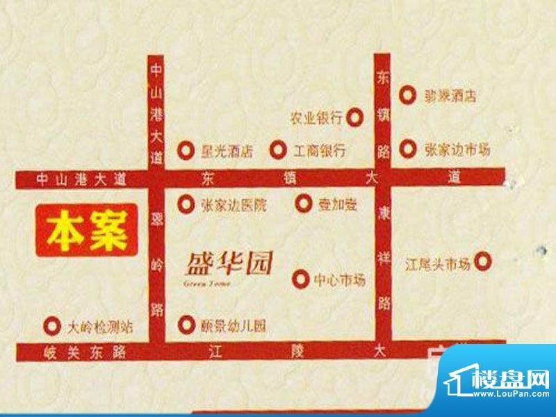 金华花园交通图