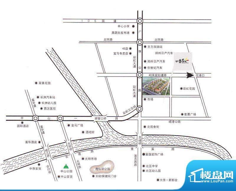 碧翠华庭交通图