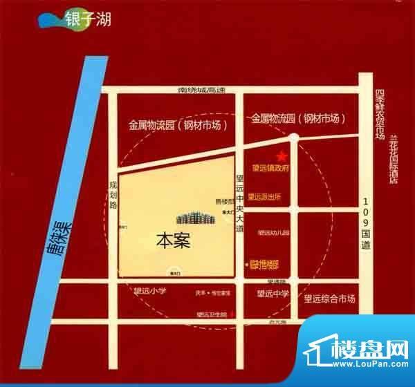 立业春城交通图