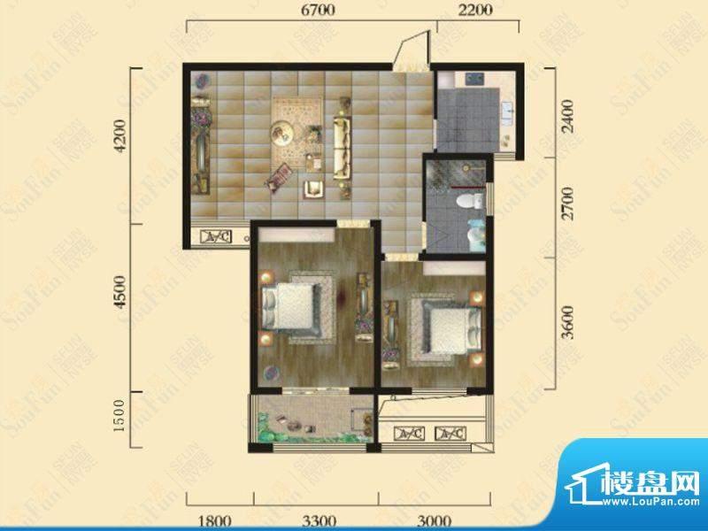 奇瑞新里城1、2、4、面积:83.77m平米
