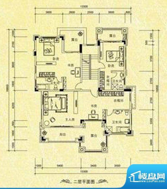 南桂园翡翠湾独栋C型面积:158.12m平米