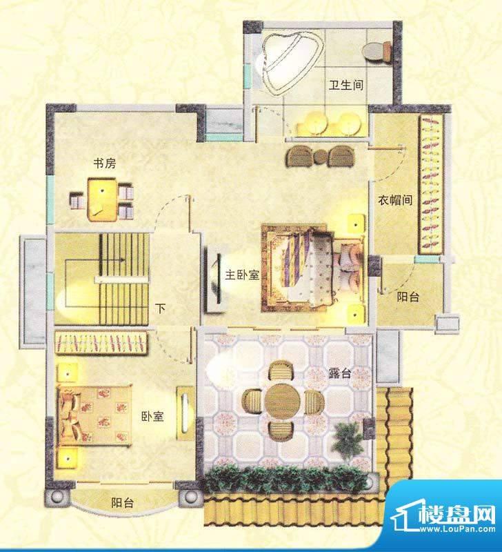 东海湾E1复式 5室2厅面积:191.00m平米