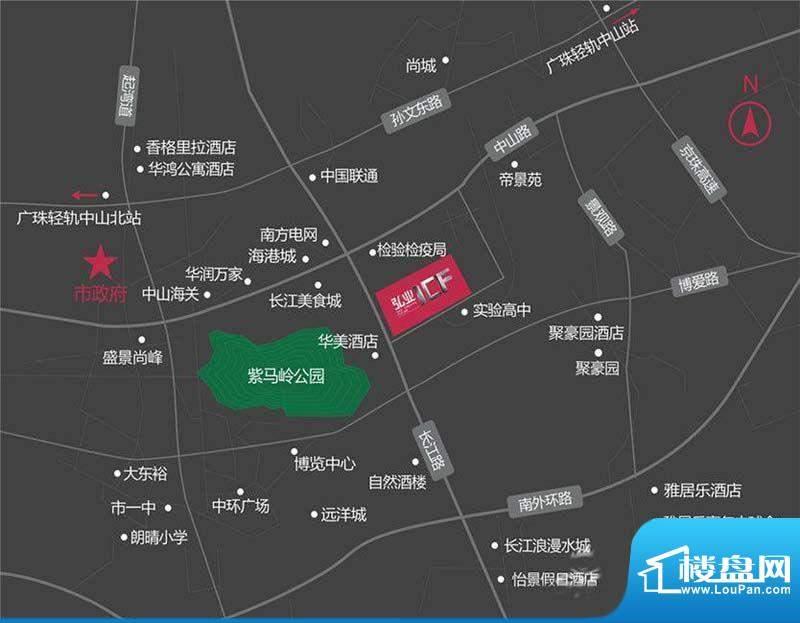 弘业I交通图