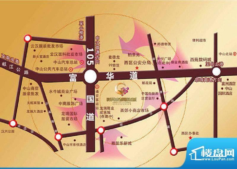 时尚京都交通图