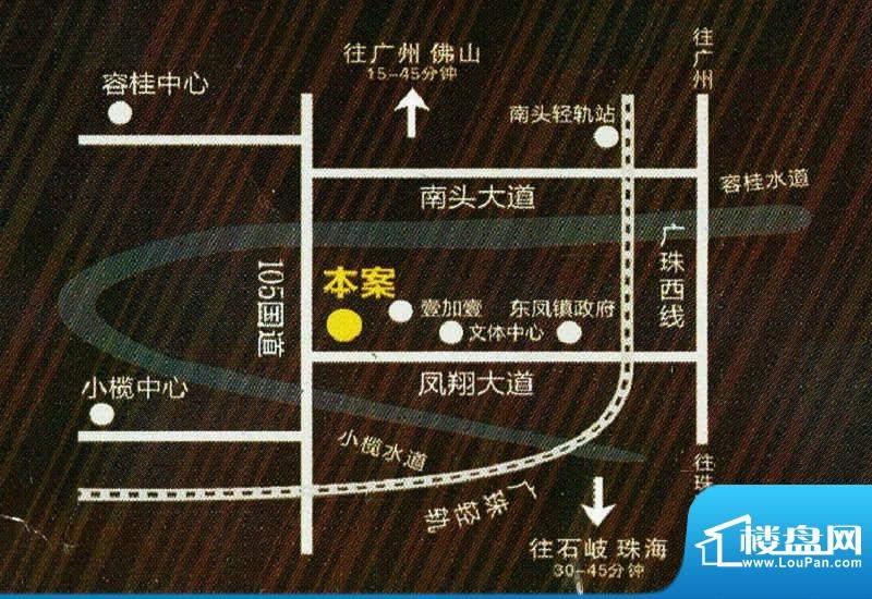 名扬世纪广场交通图