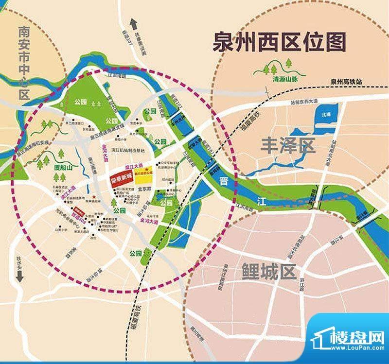 丽景新城交通图