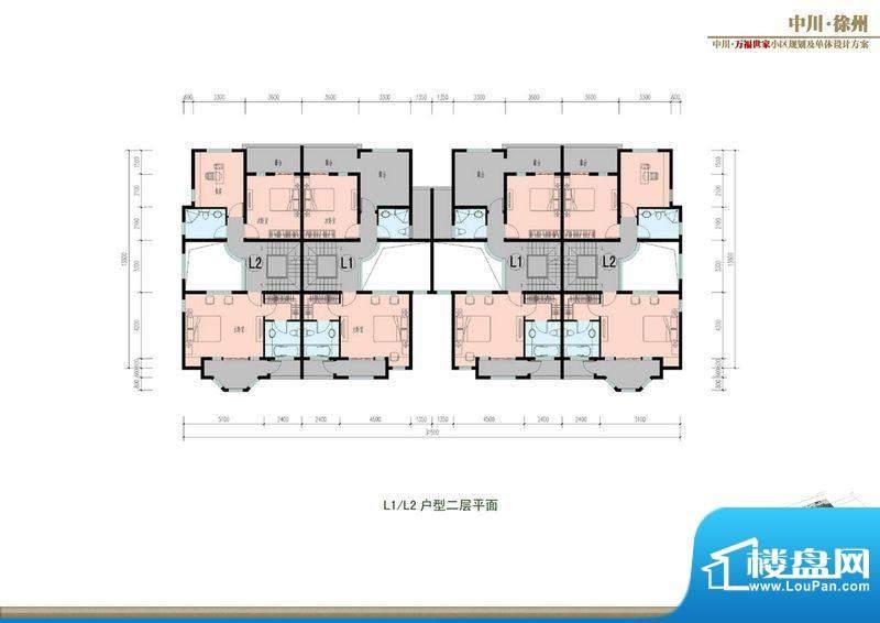 万福世家D12联排户型面积:0.00平米
