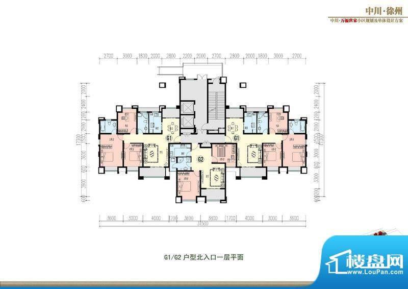 万福世家D16高层户型面积:0.00平米