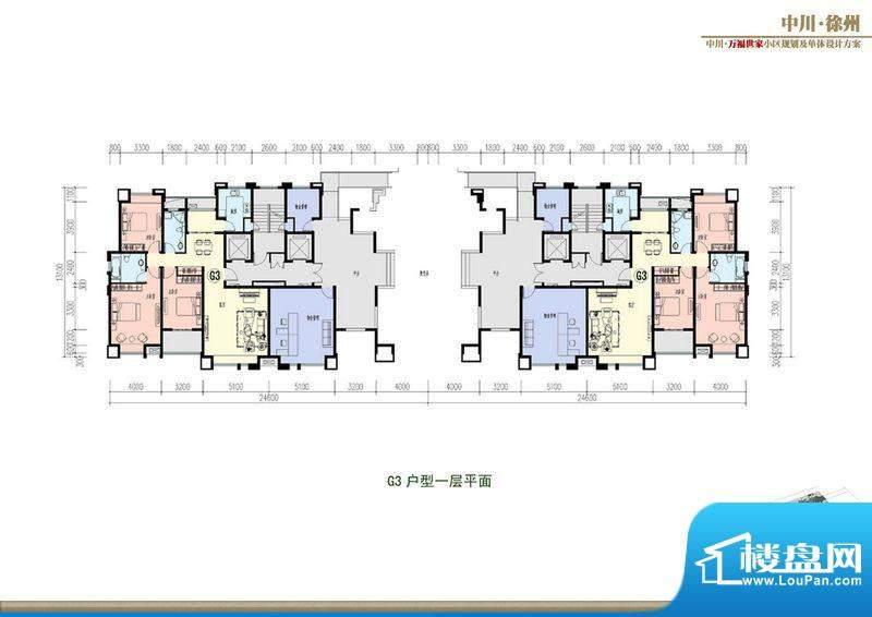 万福世家D18高层户型面积:0.00平米