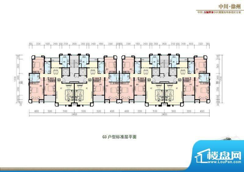 万福世家D19高层户型面积:0.00平米