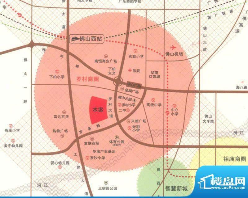 长信银湾交通图