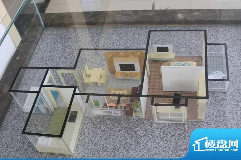 怡美嘉园E户型 2室2面积:64.70平米