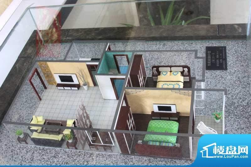 怡美嘉园C户型 2室2面积:89.61平米