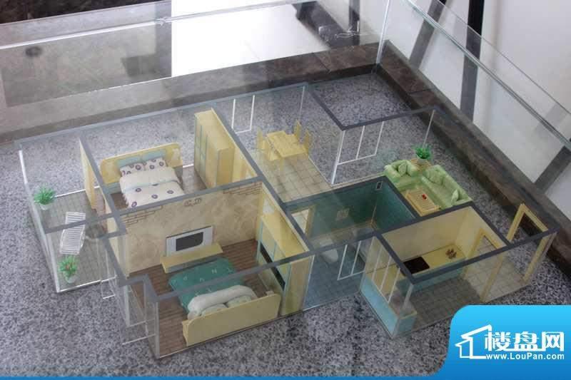 怡美嘉园D户型 2室2面积:92.68平米