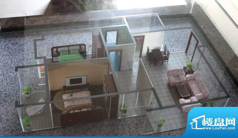 怡美嘉园B户型 2室2面积:95.16平米