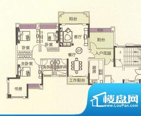 中恒海晖城香缇湾22面积:129.03平米