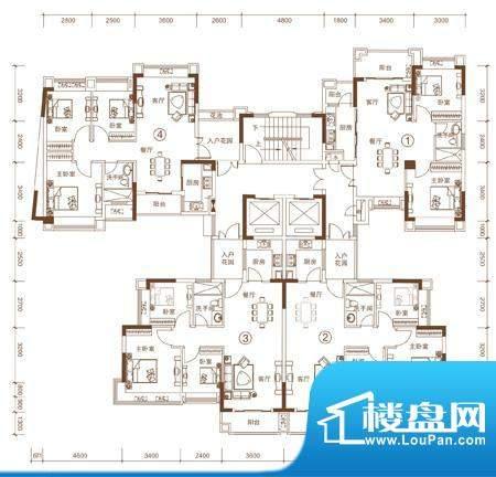 中恒海晖城27座户型面积:0.00平米