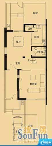 鲁商御龙湾K2户型一面积:0.00平米
