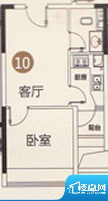 御江南7座公寓10单位面积:41.00平米