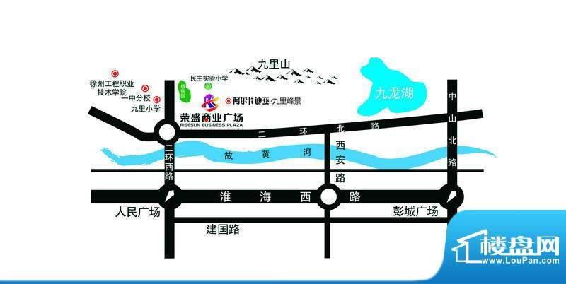 荣盛商业广场交通图